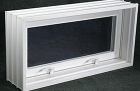 Pour-in-place Perma-Buk Pro Hinged Basement Windows in Marathon, WI