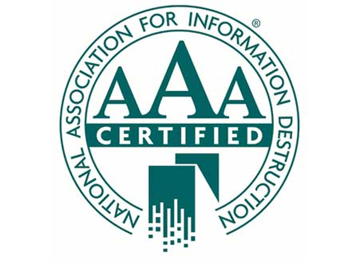 We were recently re-certified by NAID