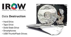 NAID Certified Hard Drive Destruction And Disposal Provider