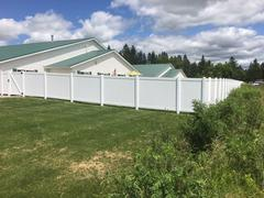 Picket fencing in Merrill, WI