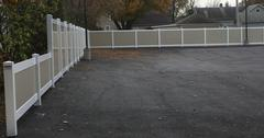 Is it privacy you are looking for? Affordable maintenance free fencing in Merrill, WI