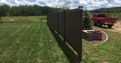 Affordable dumpster enclosure in Mosinee, WI
