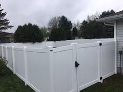 Affordable maintenance free fencing in Mosinee, WI
