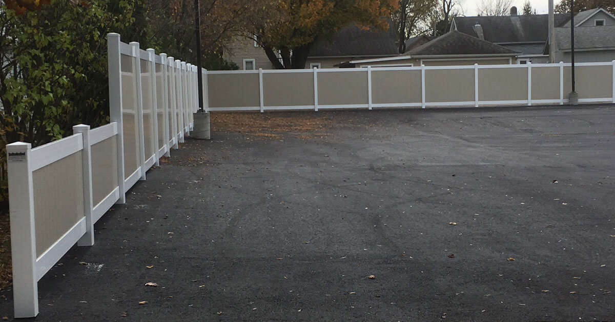 Is it privacy you are looking for? Affordable maintenance free fencing in Mosinee, WI