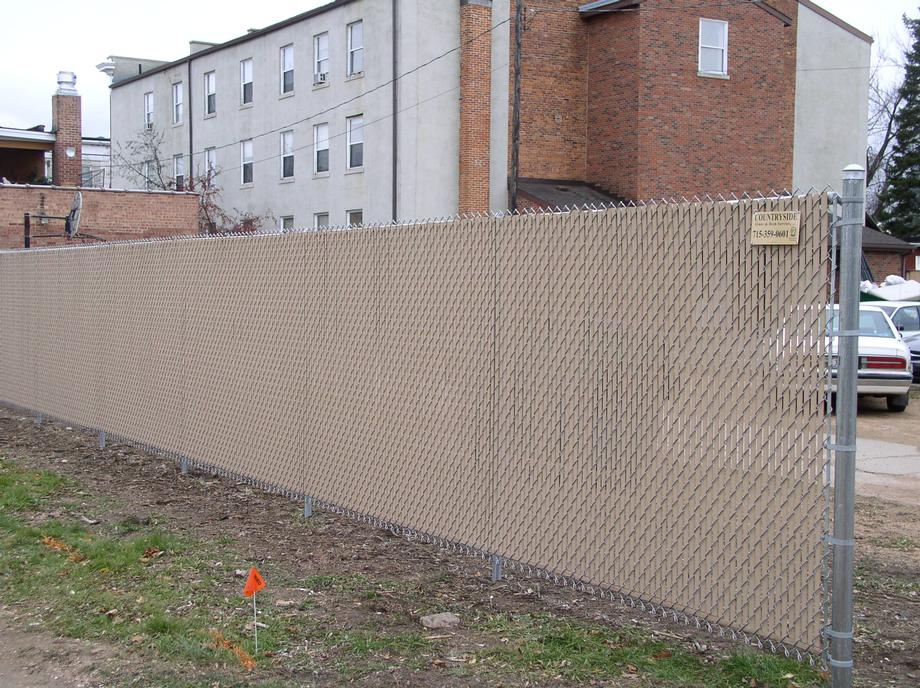 Commercial chain link fencing in Merrill, WI