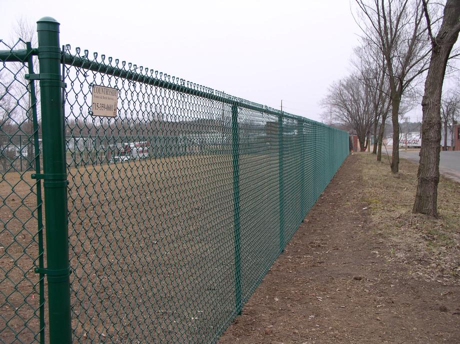Chain link fencing in Weston, WI
