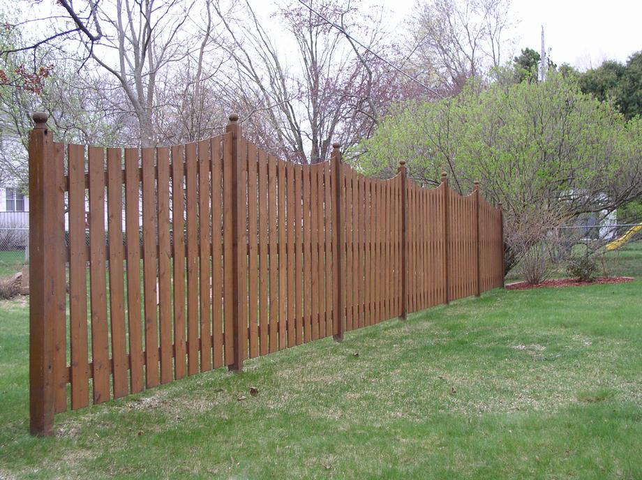 Decorative Custom fencing in Stevens Point, WI