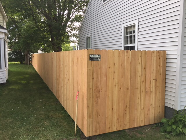 Affordable Privacy fencing in Weston, WI