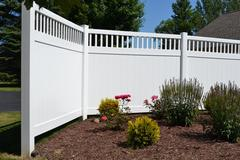 Vinyl picket fencing in Weston, WI