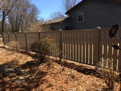 Affordable dumpster enclosure in Minocqua, WI