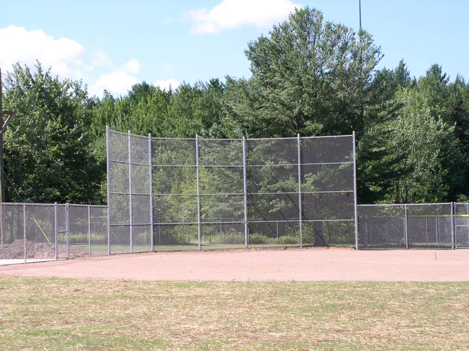 Galvanized chain link fencing in Antigo, WI