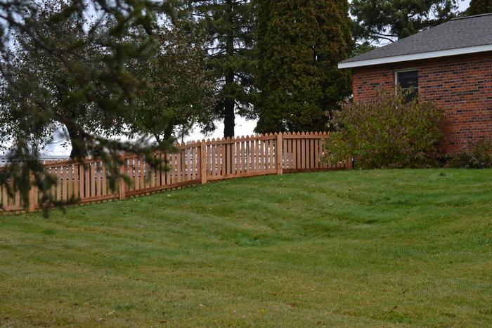Elegant Custom fencing in Marshfield, WI