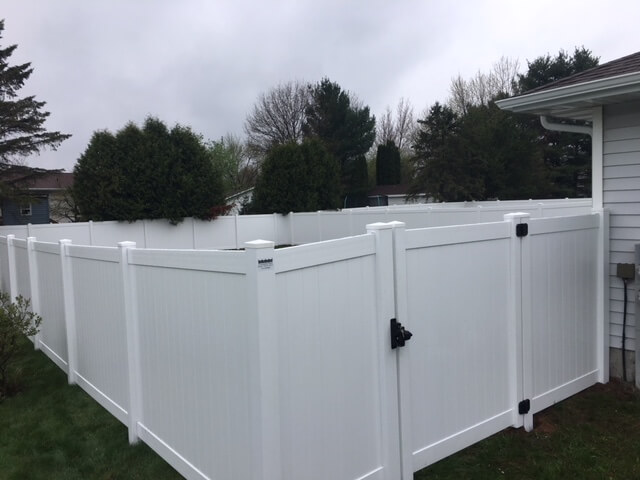 Privacy fencing in Wausau, WI
