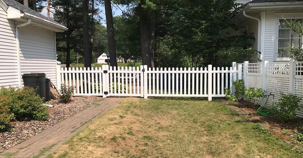 Wrought iron fencing in Weston, WI