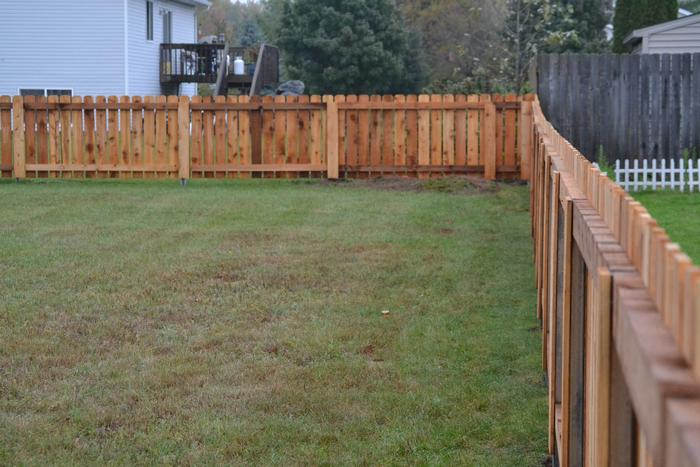 Affordable Privacy fencing in Marshfield, WI