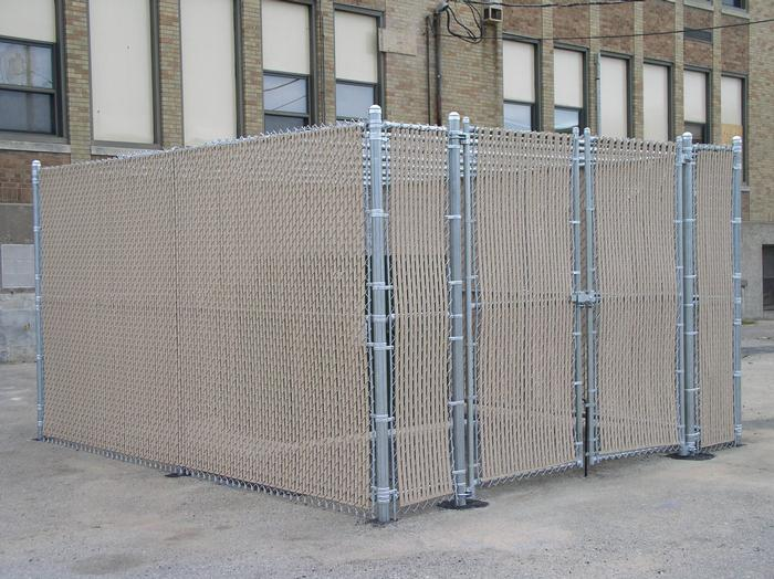 Temporary Fence Enclosures : Enclosures countryside fence services of wausau wi