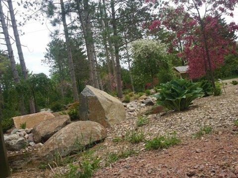 Monk Botanical Gardens in Wausau, WI