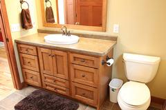 Look! Bathroom cabinetry in Stevens Point, WI