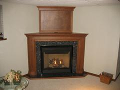 Fireplace mantels in Marathon County