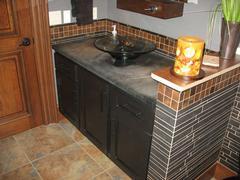 Custom Bathroom cabinets in Vilas County