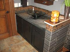 Look! Bathroom cabinetry in Plover, WI