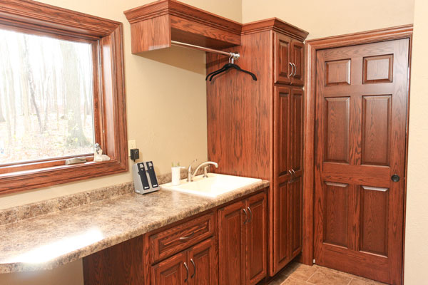 Custom built cabinets in Wisconsin Rapids, WI