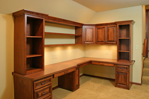 Custom-built cabinets in Eagle River, WI