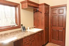 Custom-built cabinets in Langlade County