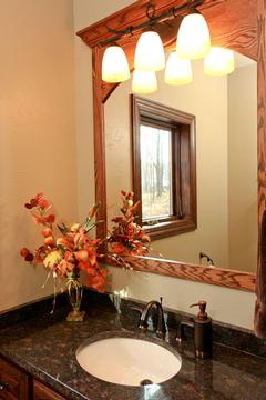 Look! Bathroom cabinetry in Eagle River, WI