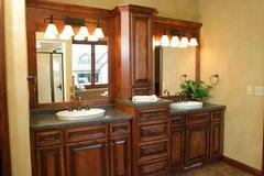 Custom Bathroom cabinetry in Wausau, WI