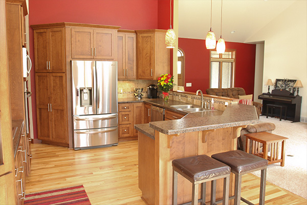 Look! Custom Kitchen cabinetry in Merrill, WI