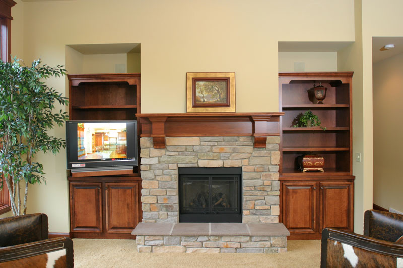 Fireplace mantels in Plover, WI