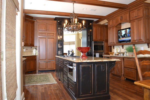 Look! Custom Kitchen cabinets in Stevens Point, WI