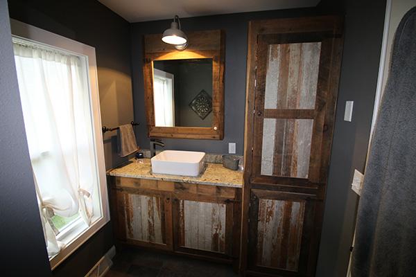 Look! Custom Bathroom cabinetry in Vilas County