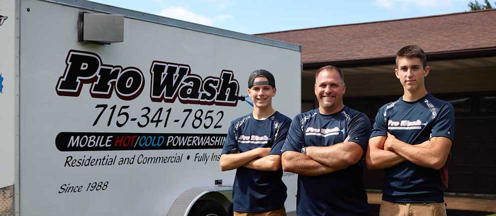 Pro Wash Power Washing and Pressure Washing Services in Wisconsin
