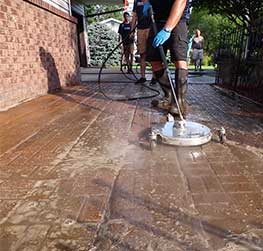 Concrete Power Washing in Stevens Point and Central Wisconsin