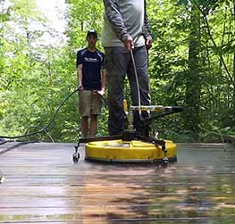 Power Washing for your Deck in Stevens Point and Central Wisconsin