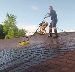 Power Washing your Roof in Stevens Point and Central Wisconsin