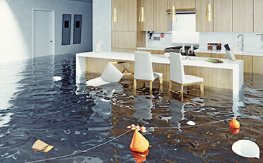 water damage in Medford, WI