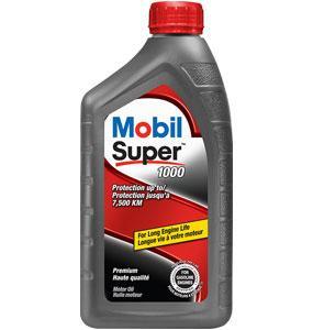Mobil Super Oil Change