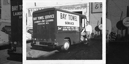 Bay Towel - Expanding Model Laundry in 1965