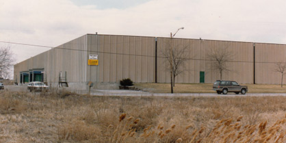 Bay Towel - Expanding Warehouse in 1989