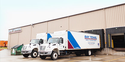 Bay Towel - Expanding Warehouse in 2014