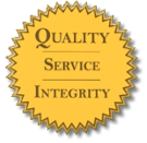 Quality. Service. Integrity.