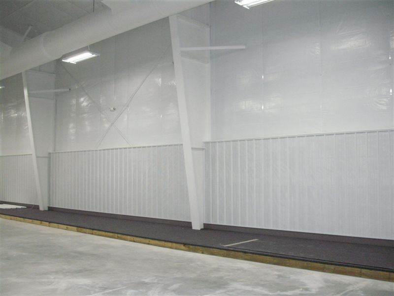 Wausau curling club liner panel for Metal panels for interior walls