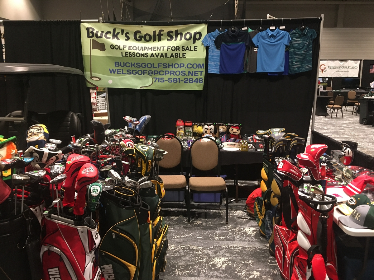Buck's Golf Shop Open Friday, November 27th 10:00 a.m. to 6:00 p.m.