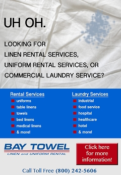 Top Service! Local linen laundry service near Wausau, WI
