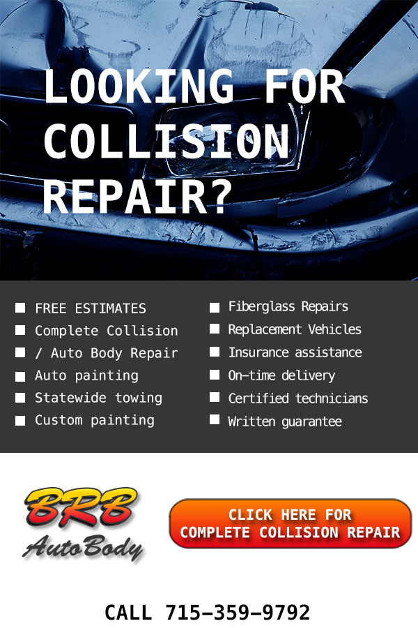 Top Rated! Professional Collision repair in Rothschild Area