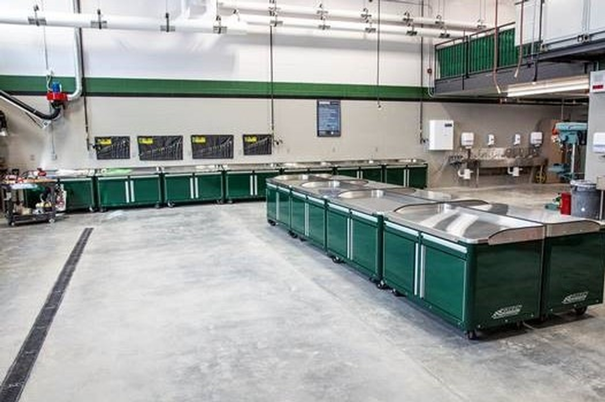 INDUSTRIAL WORKBENCHES AND HEAVY-DUTY EQUIPMENT