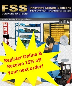 Industrial Storage & Shelving made easy with FSS
